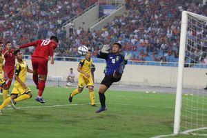 U23 Việt Nam vs U23 Brunei Quang Hải nhập trận