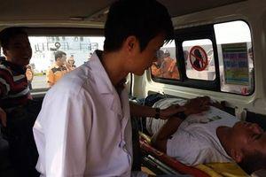 Cứu thuyền viên nước ngoài gặp nạn trong đêm
