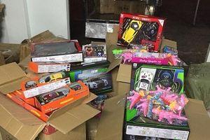 Thu giữ, tiêu hủy hơn 2.000 đồ chơi trẻ em không rõ nguồn gốc