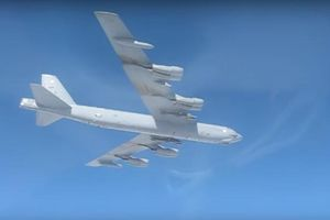 Chạm mặt tiêm kích Nga, máy bay ném bom Mỹ liền đổi hướng
