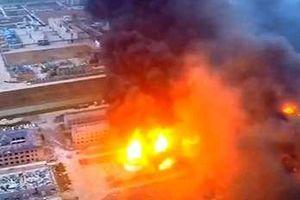 Khoảnh khắc nhà máy phân bón Trung Quốc phát nổ, trên 600 người thương vong