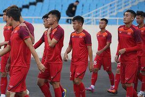 Đội hình U23 Việt Nam đấu Brunei: Vắng Đình Trọng, Đức Chinh đá trung phong?