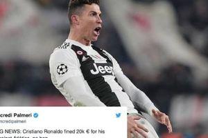 CHÍNH THỨC: UEFA đưa ra phán quyết về pha ăn mừng của Ronaldo