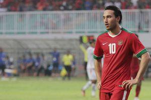 Đồng đội cũ của Suarez có thể bị cấm thi đấu vòng loại U23 Châu Á cùng U22 Indonesia.