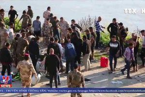 Chìm phà gây thương vong lớn ở Iraq