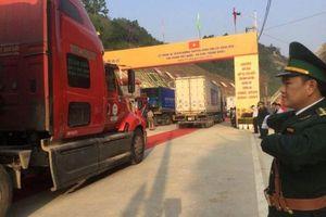 Lạng Sơn: Chính thức thông xe tuyến đường bộ vận tải hàng hóa biên giới Việt – Trung