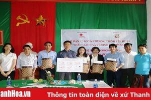 Bàn giao hệ thống lọc nước công nghệ UV-RO xử lý bằng tia cực tím cho 10 trường học tại các huyện Triệu Sơn và Yên Định