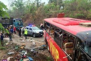 Tai nạn xe buýt tại Ghana đã khiến ít nhất 60 người thiệt mạng