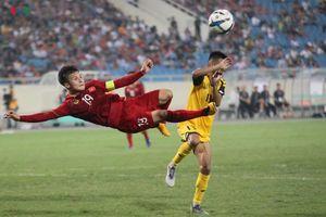 'Đánh tennis' với U23 Brunei, U23 Việt Nam soán ngôi đầu bảng K của U23 Thái Lan