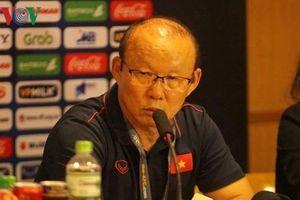 Toàn cảnh: Họp báo sau trận U23 Việt Nam 6-0 U23 Brunei