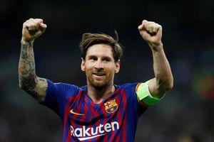 Lionel Messi nhận lương cao vượt trội ở Barcelona
