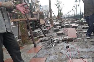 Hải Phòng: Chưa nghiệm thu, công trình hơn 1.400 tỉ đã sụt lún