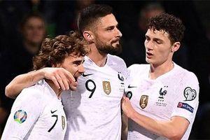 Đẳng cấp chênh lệch, Pháp thắng dễ Moldova 4-1
