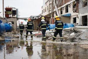 Số người chết trong vụ nổ nhà máy hóa chất ở Trung Quốc lên tới 64 người