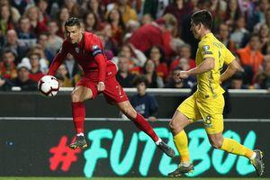 Bồ Đào Nha – Ucraina 0-0: Ronaldo giận dữ rời sân, Shevchenko hài lòng