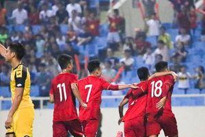 Toàn cảnh trận mưa bàn thắng của U23 Việt Nam vào lưới Brunei