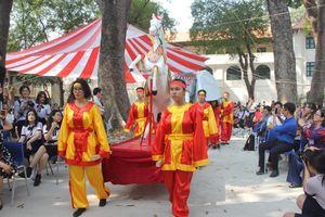 Học sinh hào hứng tham gia dự án về di sản văn hóa