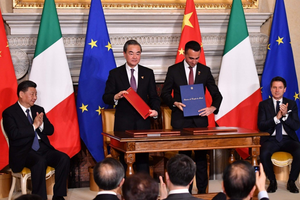 Trung Quốc và Italy ký thỏa thuận về Vành đai và Con đường