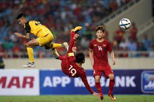 Đội trưởng U.23 Việt Nam Quang Hải: 45 phút, 3 bàn thắng và 1 vết… bầm tím