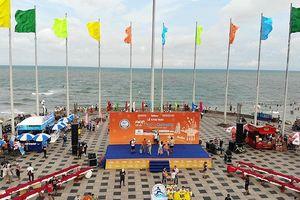 Hé lộ sân khấu vươn ra biển của Lễ khai mạc Marathon Tiền Phong