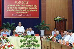 Thủ tướng gặp mặt nguyên cán bộ lãnh đạo tỉnh Quảng Nam và TP Đà Nẵng