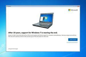 Microsoft chuẩn bị 'khai tử' Windows 7 - Kết thúc một 'tượng đài'