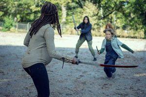 'The Walking Dead': Michonne bị tấn công khi đang mang bầu