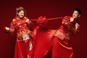 Cặp đôi 'đũa lệch' nàng béo - chàng soái ca hot nhất Trung Quốc đã chính thức về chung một nhà