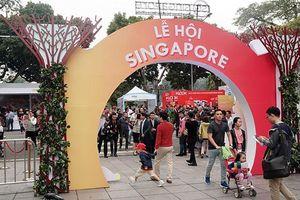 Cuốn hút Lễ hội Singapore lần đầu tiên được tổ chức tại Việt Nam
