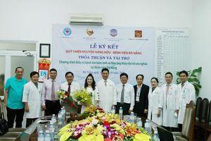 Quỹ TT Hằng Hữu ký kết thỏa thuận tài trợ Chương trình điều trị tim bẩm sinh và não úng thủy cho trẻ em nghèo tại BV Đà Nẵng