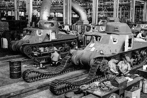 Bên trong các nhà máy sản xuất xe tăng thời Thế chiến thứ 2