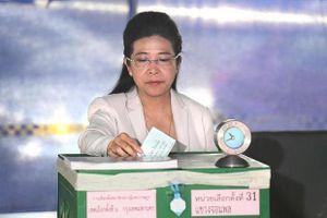 Đảng nào chiếm ưu thế trong cuộc bầu cử ở Thái Lan?