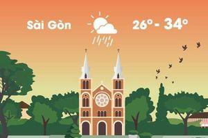 Thời tiết ngày 24/3: Hà Nội rét 15 độ C, Sài Gòn có mưa dông