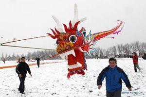 Con diều dài tới 700 mét ở Trung Quốc