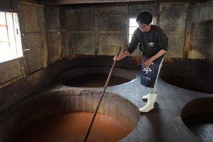 Nước tương truyền thống chiếm tỷ lệ 1% ở Nhật Bản được làm ra sao?
