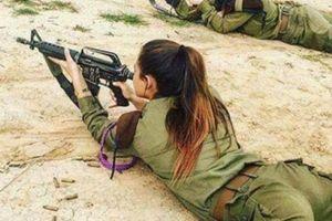 Vẻ đẹp căng tròn nhựa sống của nữ quân nhân Do Thái