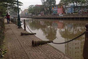 Công trình nạo vét sông Ân, hơn 10 năm vẫn dở dang