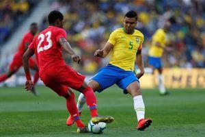 Brazil gây thất vọng trong trận giao hữu với Panama