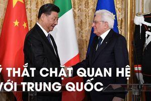 Ý trở thành nước G7 đầu tiên tham gia 'Vành đai, con đường' của Trung Quốc