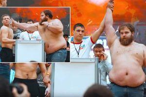 Hình ảnh 'nảy đom đóm mắt' ở cuộc thi đặc biệt chỉ Nga có