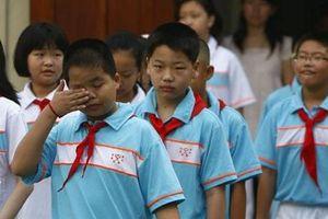 Áp lực học hành khiến hơn 50% thanh thiếu niên Trung Quốc thiếu ngủ