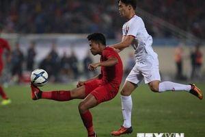 Hình ảnh trận đấu giữa đội tuyển U23 Việt Nam và U23 Indonesia