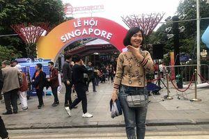 Người dân hào hứng với Lễ hội Singapore lần đầu tổ chức tại Hà Nội