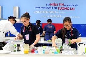 Ngày hội thu hút đông đảo học sinh tham gia tại trường Nguyễn Siêu