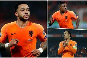 Đội hình 'siêu tấn công' giúp Hà Lan đả bại ĐT Đức