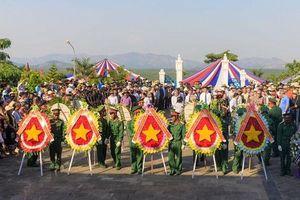Tưởng niệm 51 năm ngày hơn 200 chiến sỹ Hà Nội hy sinh tại Chư Tan Kra