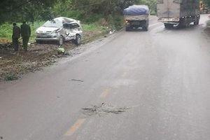 'Xe điên' tông trực diện ô tô 7 chỗ khiến 1 cháu bé tử vong cùng 7 người khác bị thương