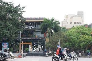 Hà Nội ngại ra tòa nên không cưỡng chế nhà hàng lấn dự án