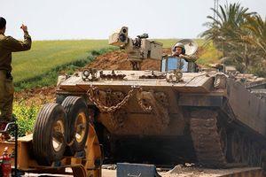 Israel đưa xe bọc thép tới biên giới với Gaza