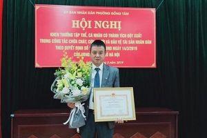 Khen thưởng tập thể, cá nhân cứu cháu bé trong vụ cháy ở phường Đồng Tâm